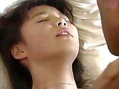 ungt för JAP tjej som tas från parken för främling