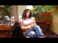 Mature TS RavenRoxx BTS Interview & Naughtiness