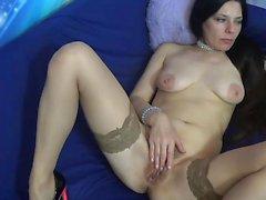 masturbación peluda madura