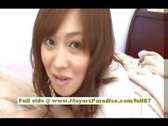 Mihiro китайская модель наслаждается получать офисных гребаный