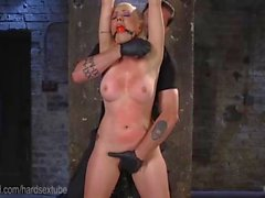 Lorelei Lee Endures Rough Rope Bondage