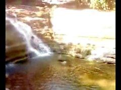 Desi Bhabhi Outdoor Scandal near River 12 Mins wid Dirty Audio