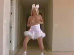 Lapin La danse de Alison d'ange