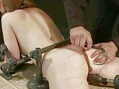 Extreme tits bondage