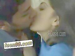 Indian desi girlfriemd love to kiss her boyfriend