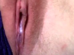 Sexy amateur close up creampie