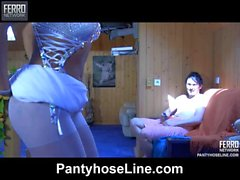 Cornelia&Rolf amazing pantyhose video