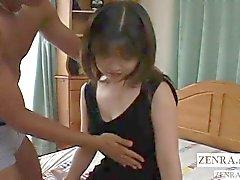 Aficionado japonés no censurado de desnudado y dedos Subtitulada