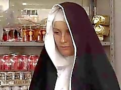 Nun goes dirty