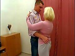 Mom boy dance