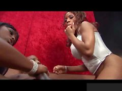 Ayana Angel was feeling every bit of Jada Fires pleasure as she watched