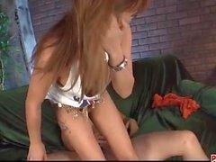 Kokoa Ayane amazes with sloppy blowjob and
