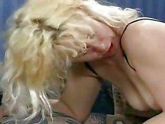 Horny German housewife analysed by Steve Holmes