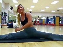 La perra en el gym