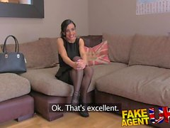 FakeAgentUK Exotic porn excites petite UK escort