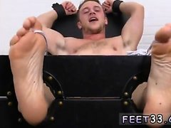 Black young males gay sexy feet and boys feet on face Kenny