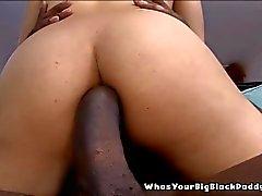 Busty Black Anal Slut Creampie By Monstercock