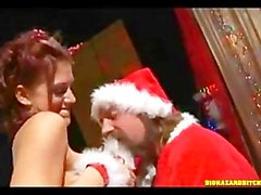 Santa Claus fucking a Whore
