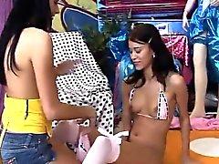 Lesbian ass licking compilation Hot wonderful pals playing w