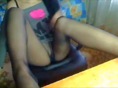 Webcam pantyhose