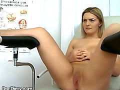 Doctor Spreads Pussy Lips