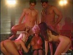Hot Beautiful Blonde takes Cumloads on her Big Tits, Cumswap, Helen Duval