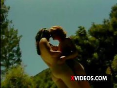 """Hot outdoor lesbian sex scene from the porn video """"Very Tasty"""""""