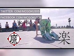 mcgoku305 i can't feel my face (official twerk music video)