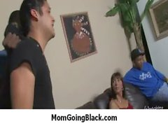 Nasty mom rides huge black monster cock 6