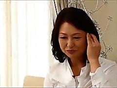 Ayako Satonaka sixtieth födelsedags grannyen RUBY