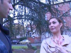 La Novice - Slutty Julia Gomez getting ass drilled
