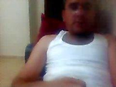 diverse uomini rette i piedi sulla di webcam