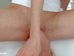 Sensual lesbian scene by Sapphix with Kristal Kaytlin a