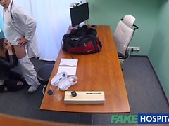 FakeHospital Dirty doctor fucks thief and creampies her