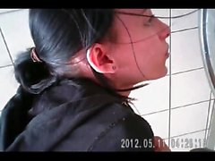girl puking and pissing