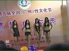 Китайской женское белье шоу