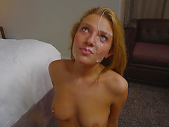 indecent facial for a tremendous golden-haired fearsome-fearsome HD Porn