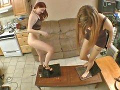 Tara Tied & Missy Laptop wrecking crew