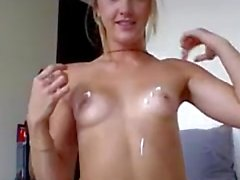 Blonde Brianna with toy - ENVEEM COM