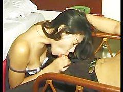 Asian lady boy has amazing ass