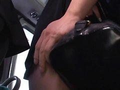 Bus Reverse Molester Rin Sakuragi Rin Sakuragi