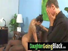 Sexy Teen Daughter Fuck A Huge Black Cock 16
