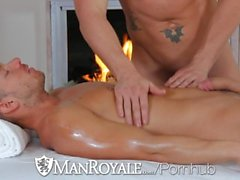 ManRoyale - Shane Frosts swallows big load from Jeremy Stevens