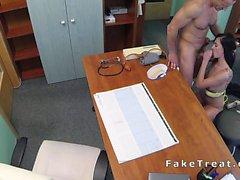 Doctor fucks tattooed patient