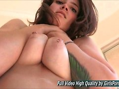 Gina Solo Hard Breast Massage Adult FTV