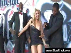 Interracial Gangbang - The power of big black cock 24