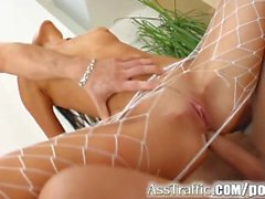 Ass Traffic Forceable entry into Holly's leaves her smiling