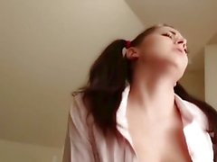 image Busty princess akiho sucks the dick in perfect manners