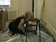Mummified foot worship