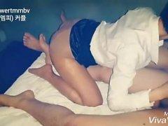 Korean couple Tumblr 3 person sex affair
